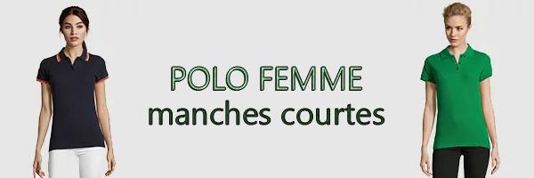 polo femme pas cher