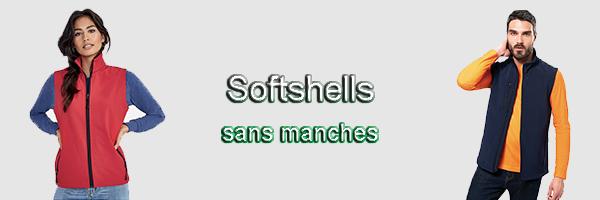 Softshell sans manches
