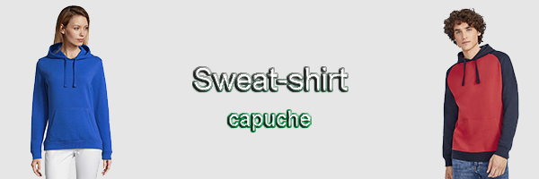 sweat capuche BDE