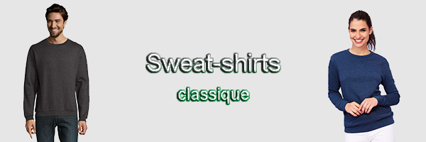 sweat col rond pas cher