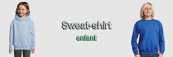 sweat enfant pas cher