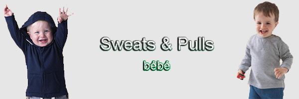 Sweat-shirt bébé