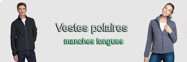 polaire manches longues