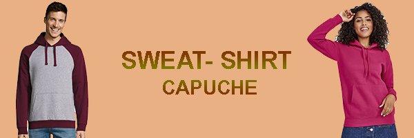 sweat capuche BDE