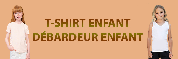tee shirt enfant sol's, b&c
