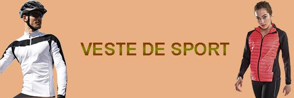 veste de cyclisme et sport