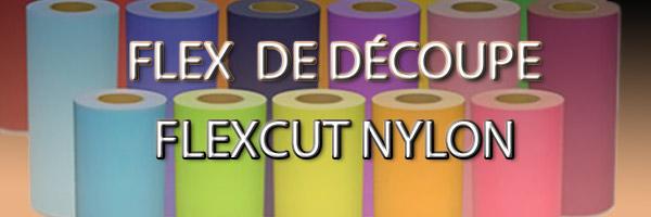 flex pour textile nylon