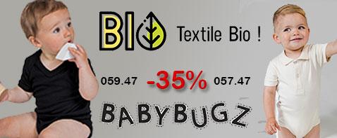 body bébé promo