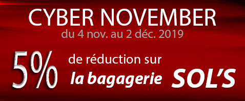 bagagerie promo